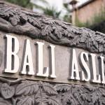 Bali Asli Restaurant and Cooking School Entrance