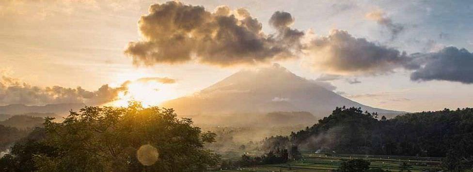 Mount Agung erupts!