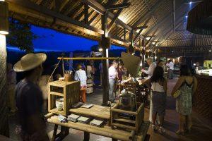 Food preparation at Bali Asli