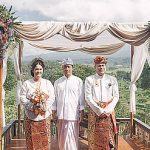 Bride, Groom and Holy Man