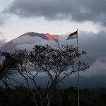 Mt Agung at peace!